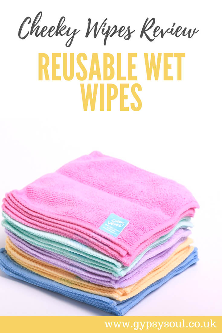 Cheeky Wipes Review - Switching to Reusable Wet Wipes #ZeroWaste #GreenLiving #SustainableLifestyle