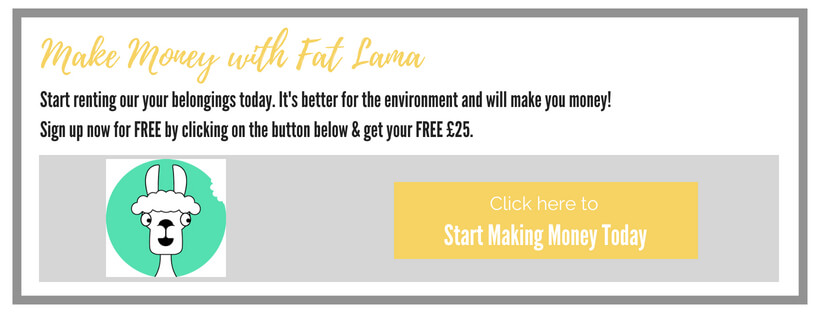 Fat Lama sign up today and get £25