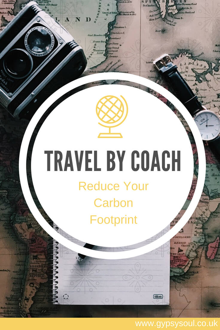 Reduce your carbon footprint: Travel by coach #GreenLiving #EcoLifestyle #CarbonFootprint #SustainableLiving