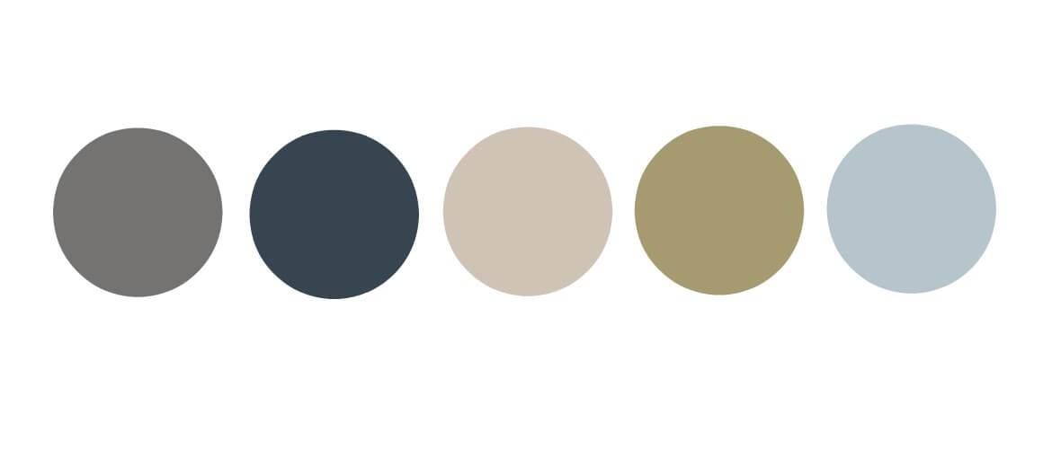 Scandinavian colour palette