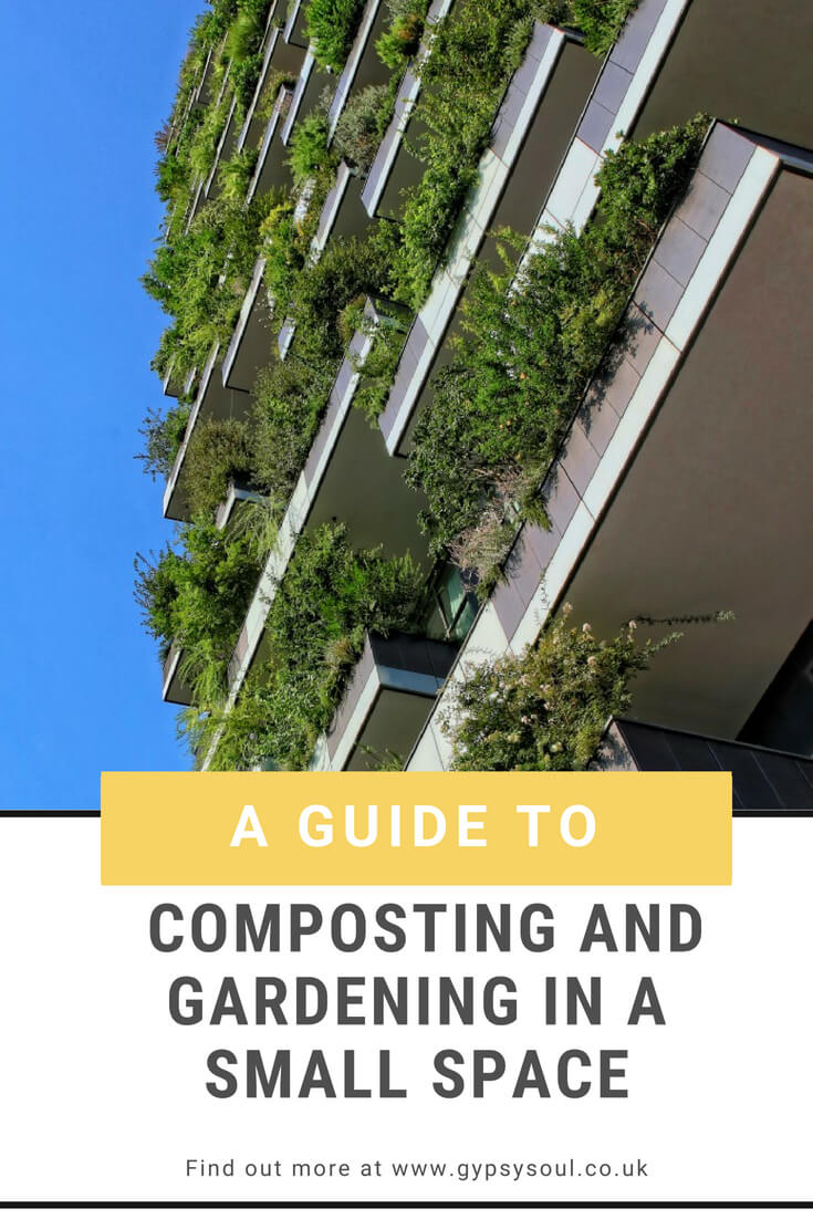 A Guide to Composting and Gardening in a Small Space. Find out more by clicking the image. #SustainableLiving #GreenLifestyle #Gardening #Composting #SimpleLiving