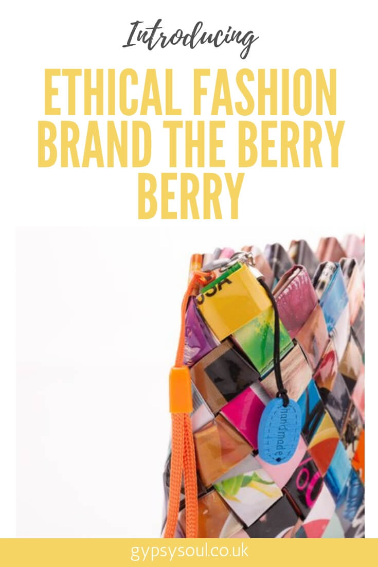 Ethical fashion brand The Berry Berry: Creating unique upcycled handbags and fashion accessories #ethicalfashion #ecofashion #ecoliving #sustainablelifestyle