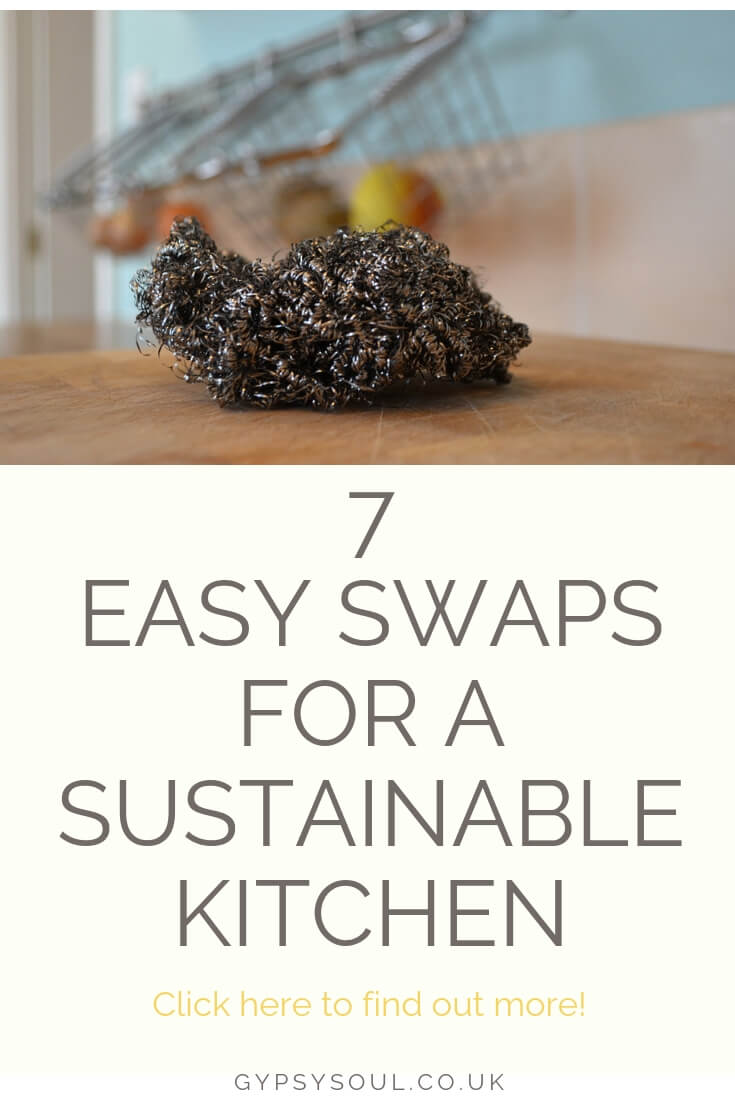 7 Easy Swaps for a More Sustainable Kitchen #sustainablelifestyle #sustainableliving #greenliving