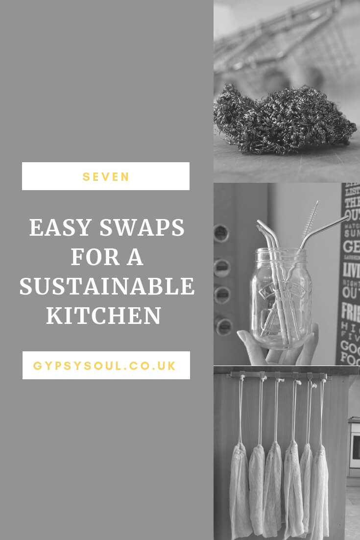 7 Easy Swaps for a Sustainable Kitchen #Sustainableliving
