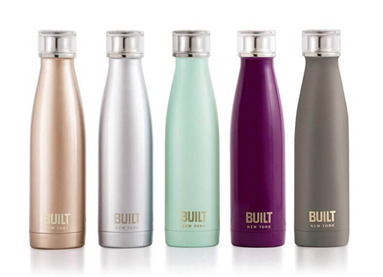 Built New York water bottles