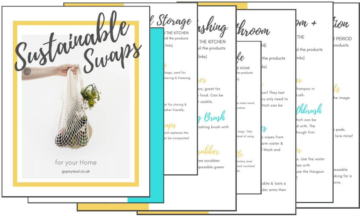 Sustainable swaps for your Home by Gina Caro