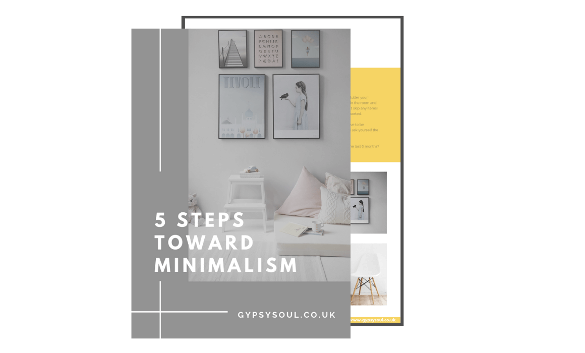 5 steps toward minimalism