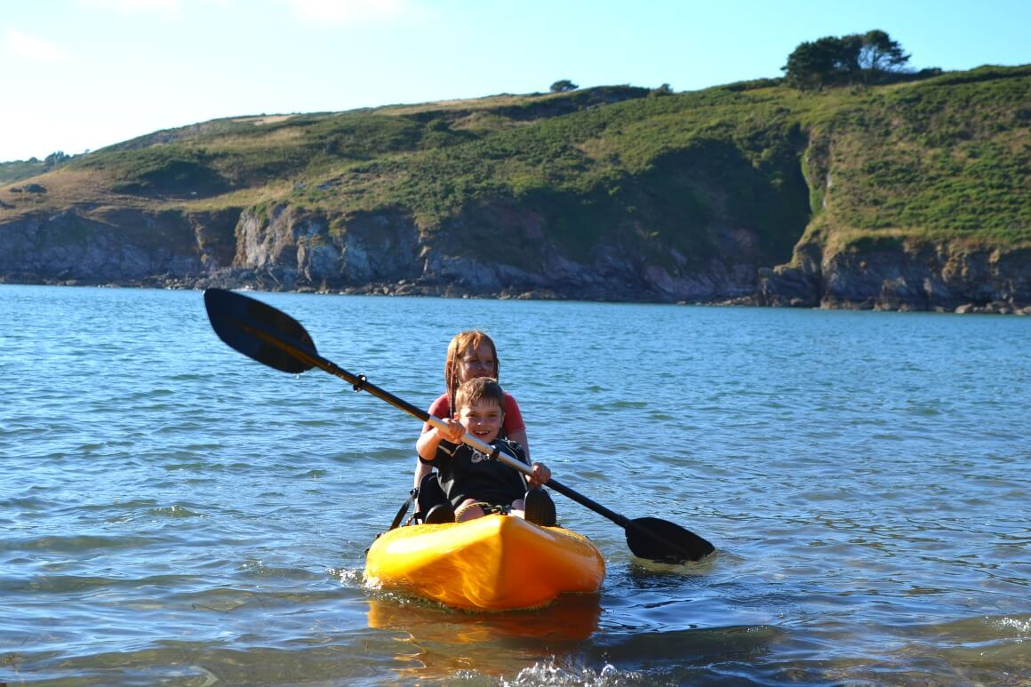kayaking kids Experiences not things
