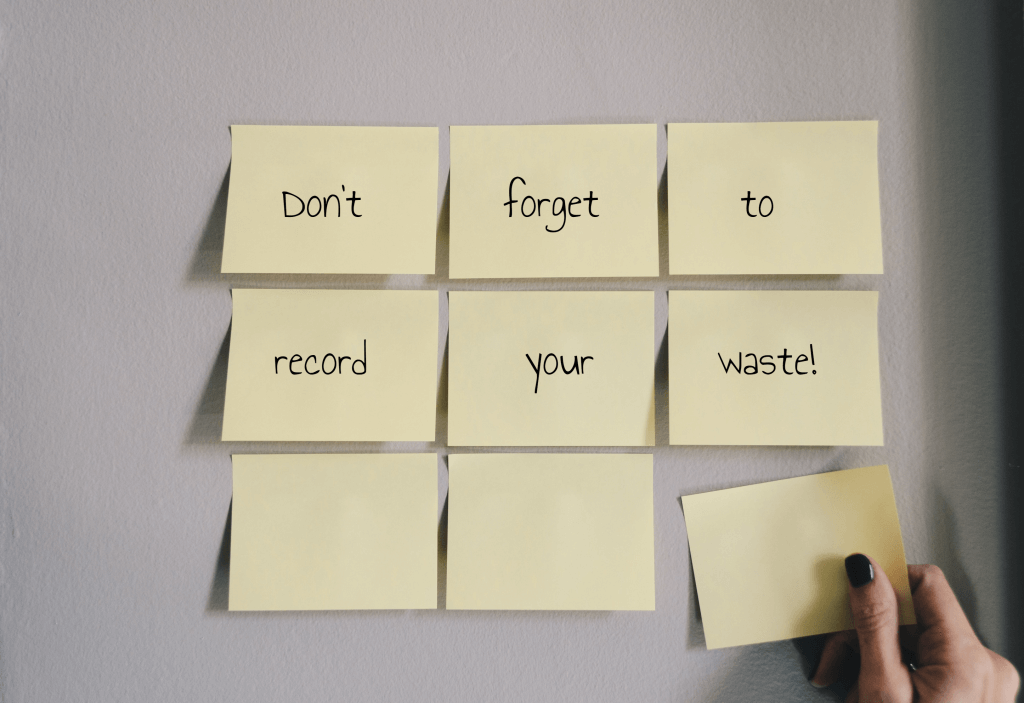 Record your waste