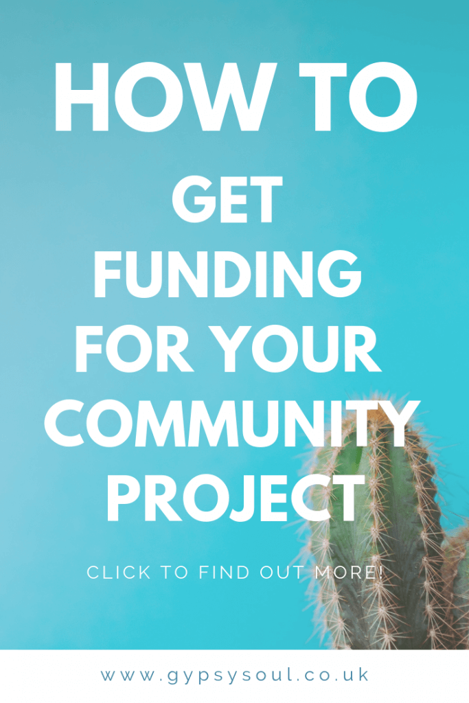 How to get funding for your local community project. Click the image to find out how today! #community #sustainablelifestyle #simpleliving