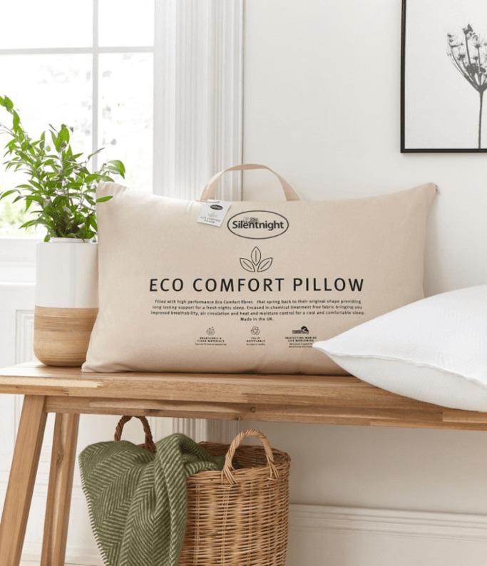 eco pillows bu silentnight