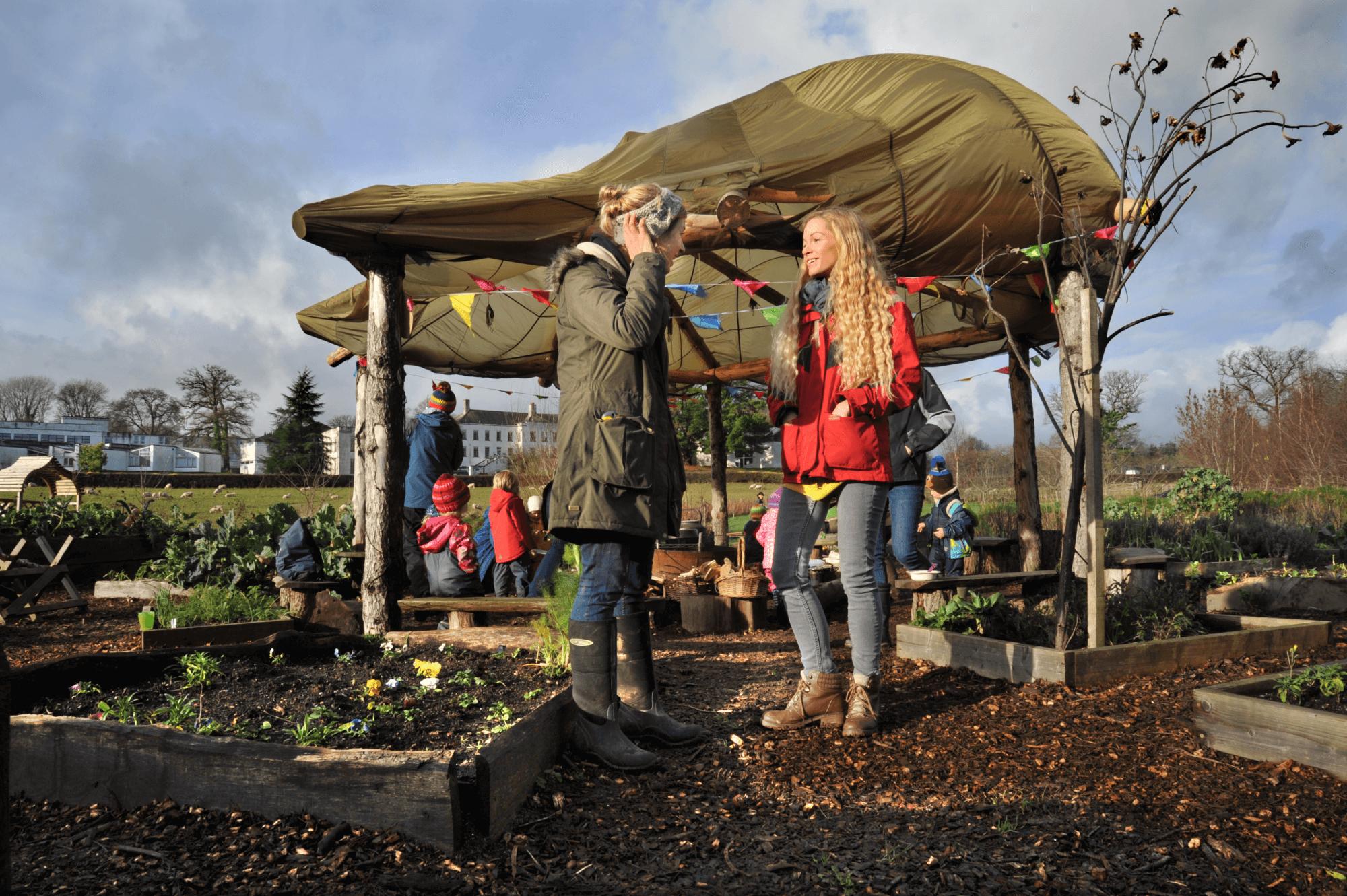 Community Garden Totnes devon