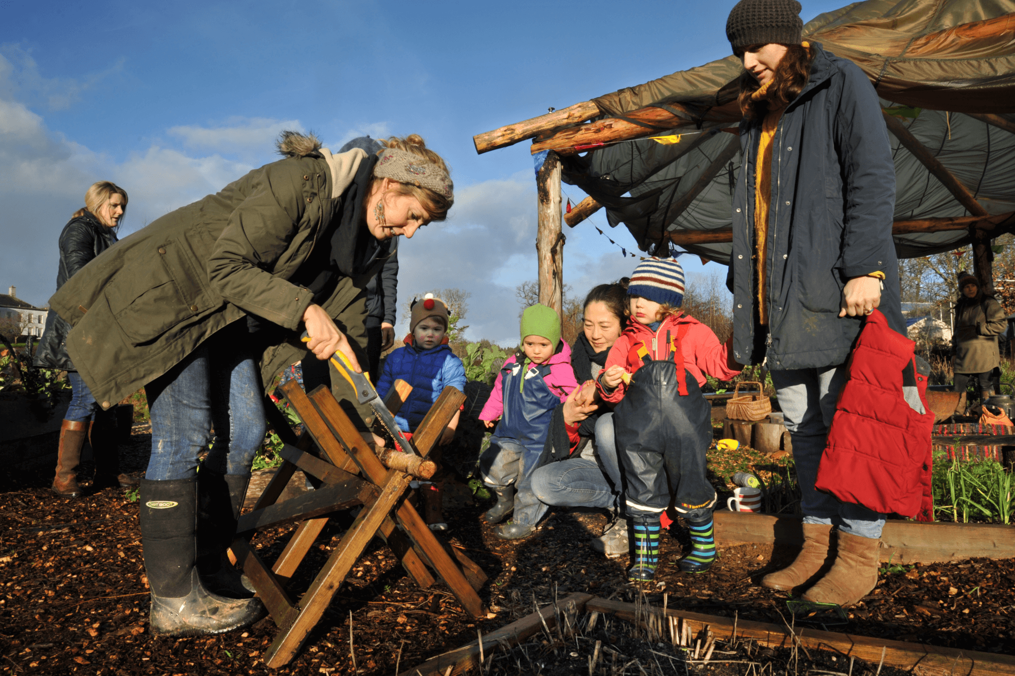 Foxhole Community Garden Totnes Devon