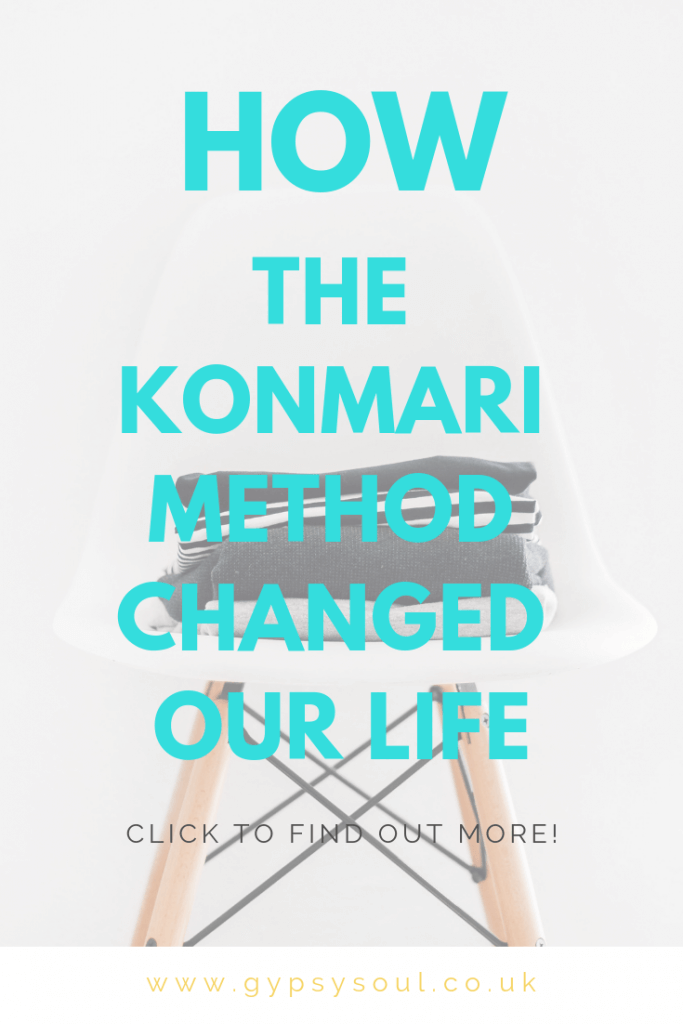 How the Marie Kondo method of decluttering changed our life #decluttering #declutter #konmari #mariekondo #organizedhome