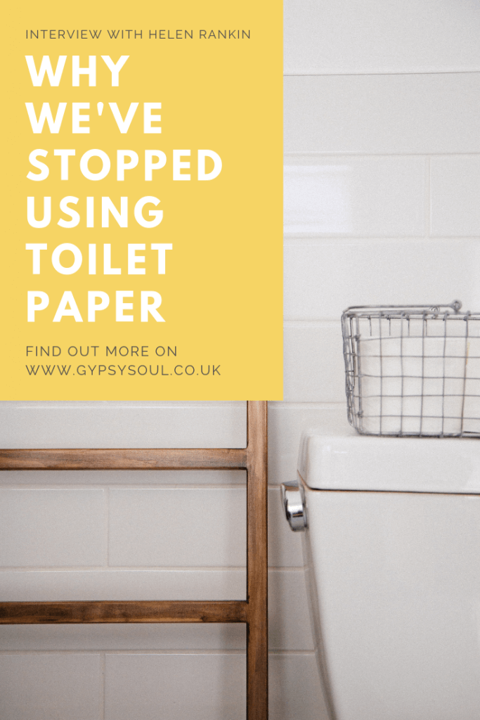 Why we've stopped using toilet paper and you should too #zerowaste #ecolifestyle #zerowastehome