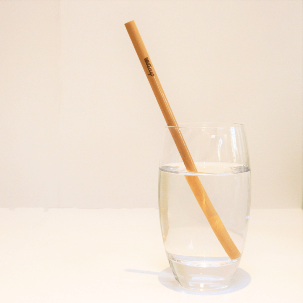 WAKEcup bamboo straw