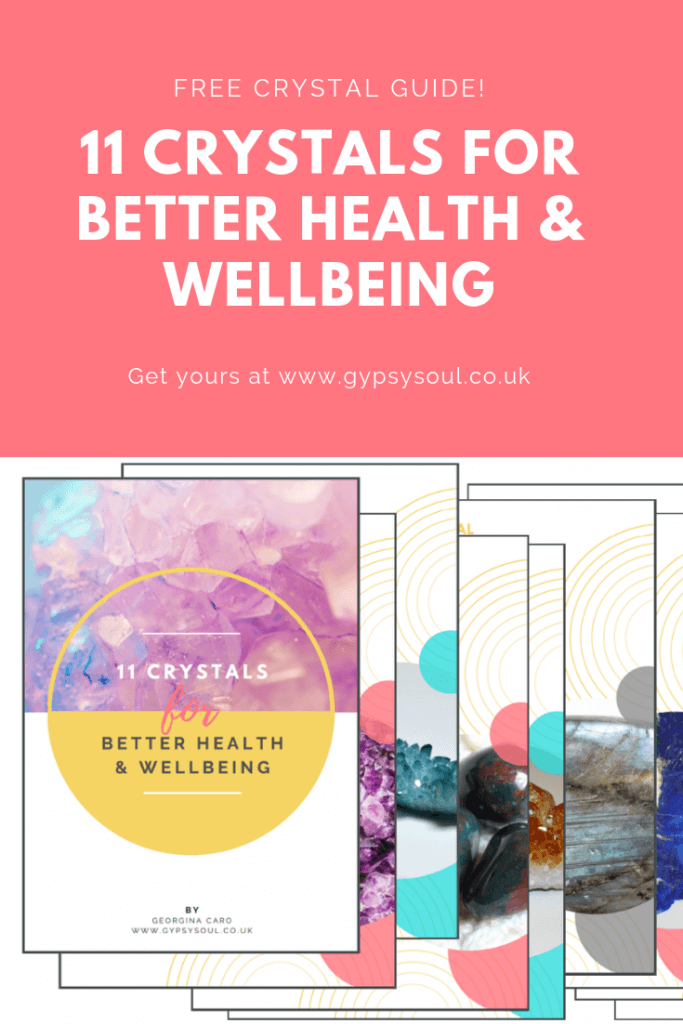 11 crystals for better health & wellbeing + free guide!