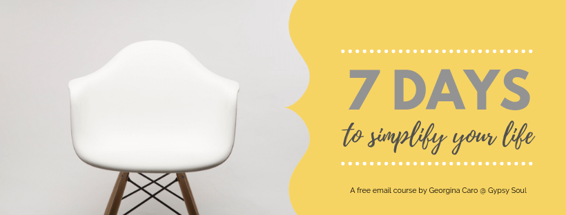 7 Days To Simplify Your Life