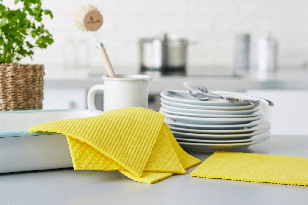 compostable sponge cloth