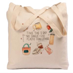WakeCup tote bag