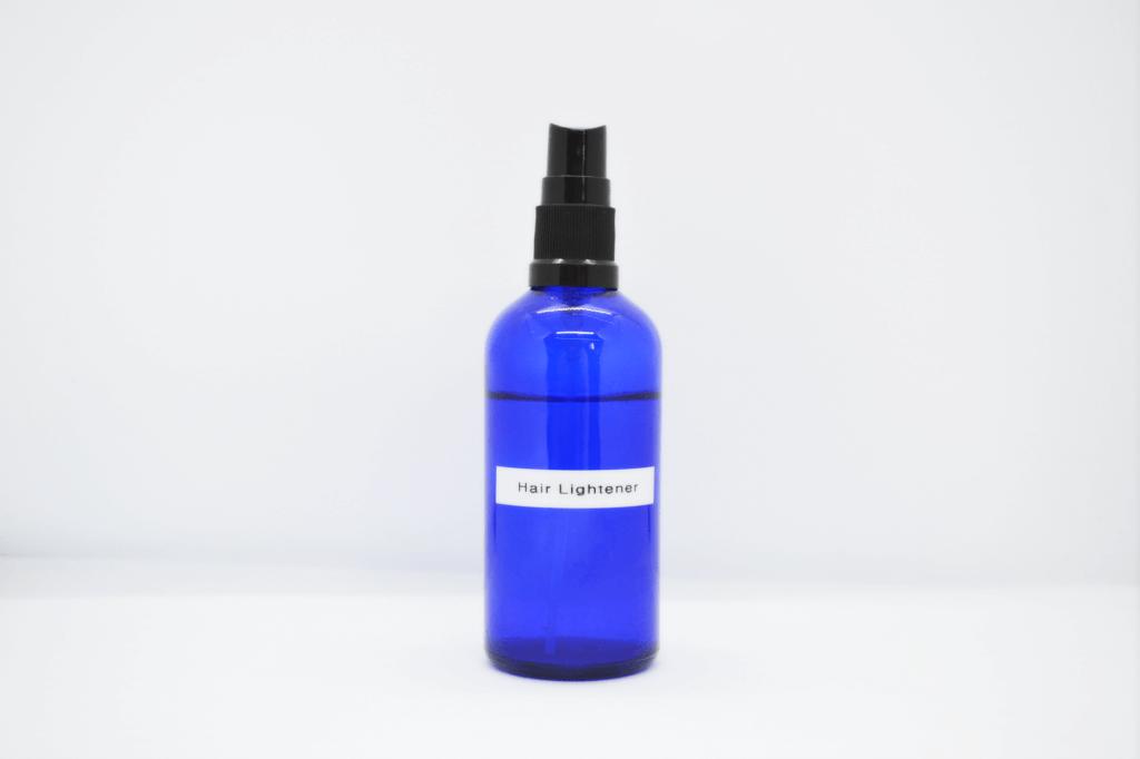 homemade hair lightener