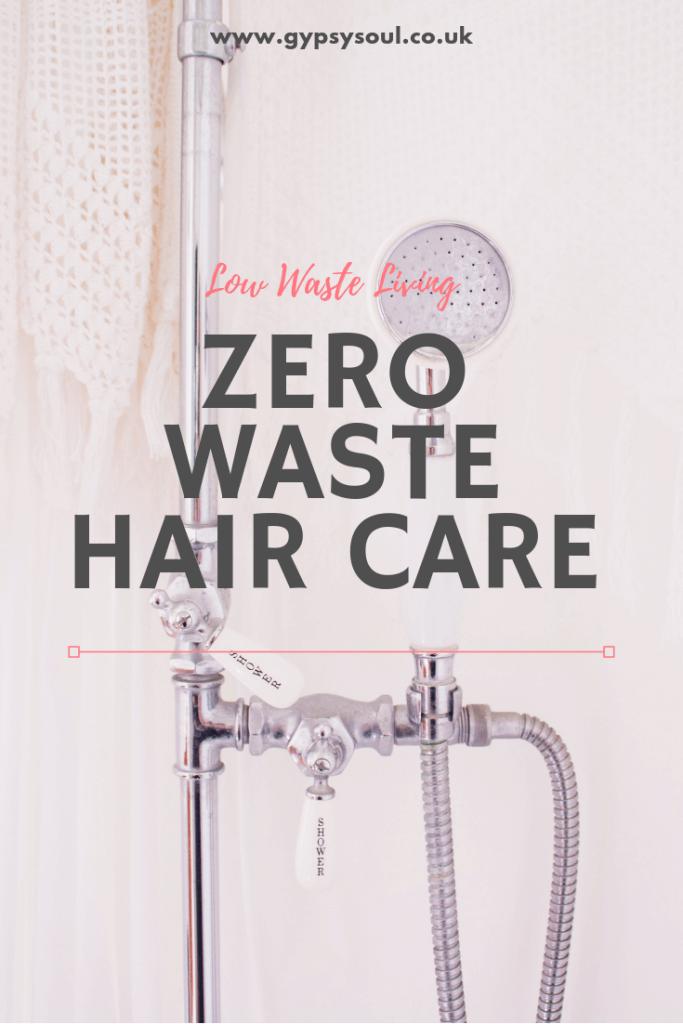 My zero waste hair care routine