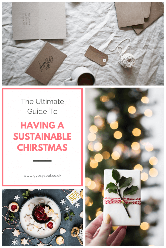 The ultimate guide for having a sustainable Christmas #sustainableChristmas #zerowasteChristmas  #freeprintout