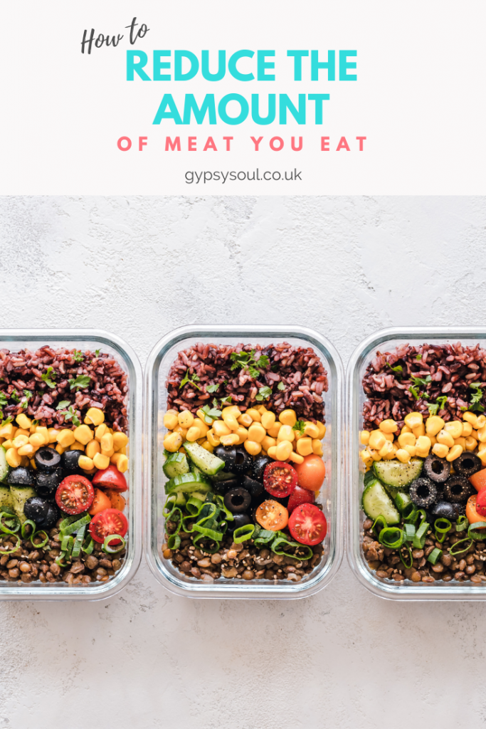 how to reduce your meat consumption and why you should
