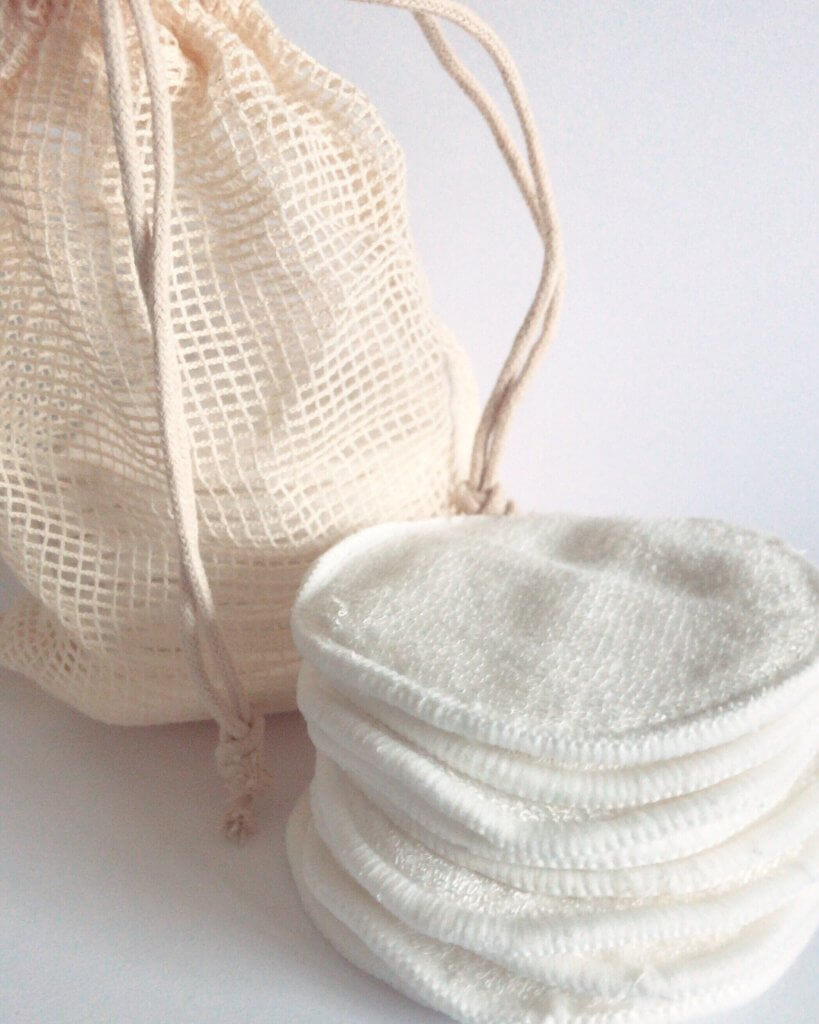 reusable bamboo makeup wipes