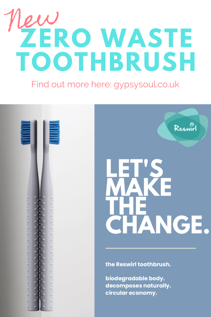 Zero waste toothbrush. The world's only returnable, sustainable and remouldable plastic toothbrush. #zerowaste #zerowastebathroom
