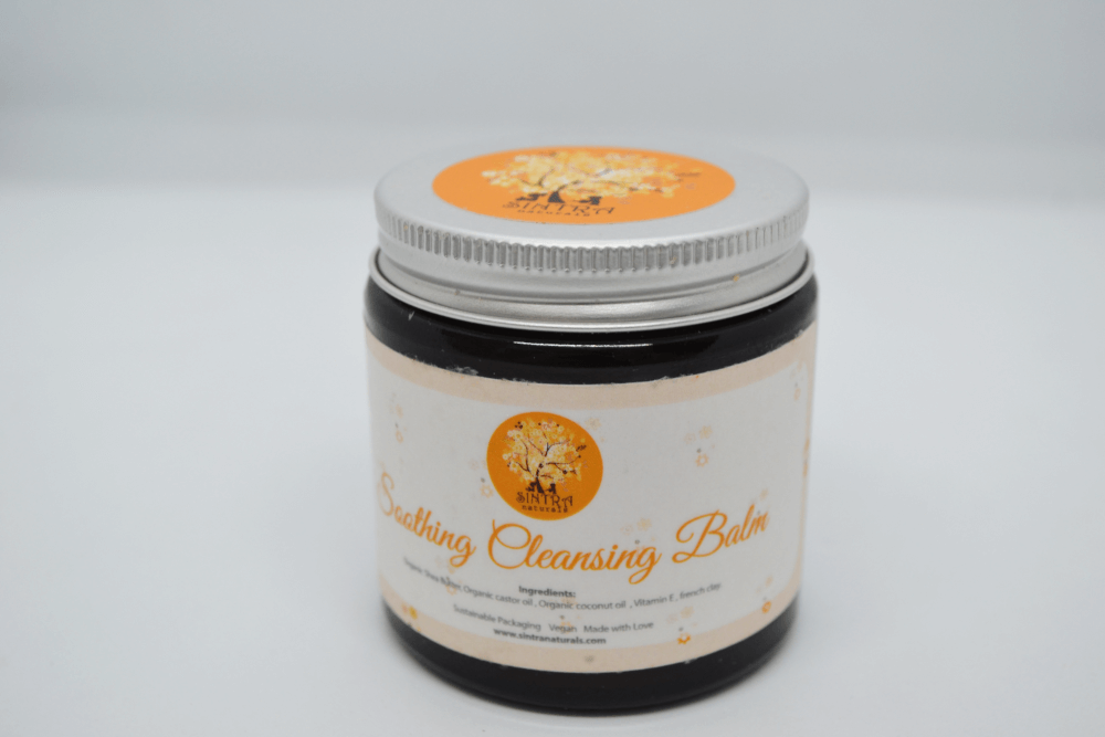 soothing cleansing balm zero waste